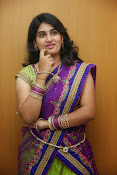 Krishnaveni glam in half saree-thumbnail-17