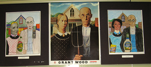 Grant Wood Art Project
