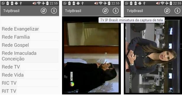 aplicativo de tv online brasileira gr tis tv ip brasil the news mobile solution. Black Bedroom Furniture Sets. Home Design Ideas