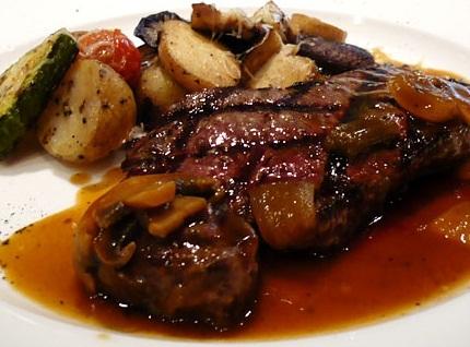 Carne al horno con papas recetas paso a paso comidas f ciles y caseras - Carnes rellenas al horno ...