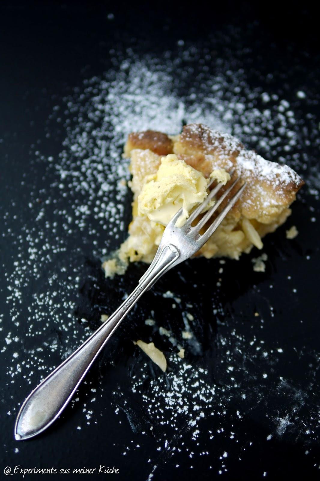 Experimente aus meiner Küche: Nektarinen-Marzipan-Tarte