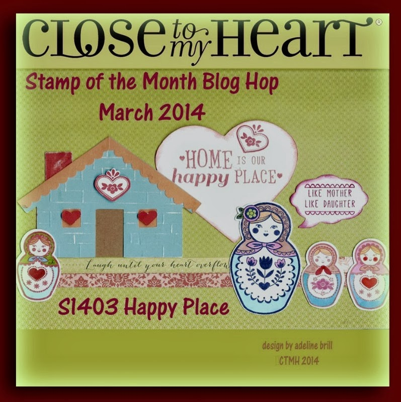 Stamp of the Month Blog Hop