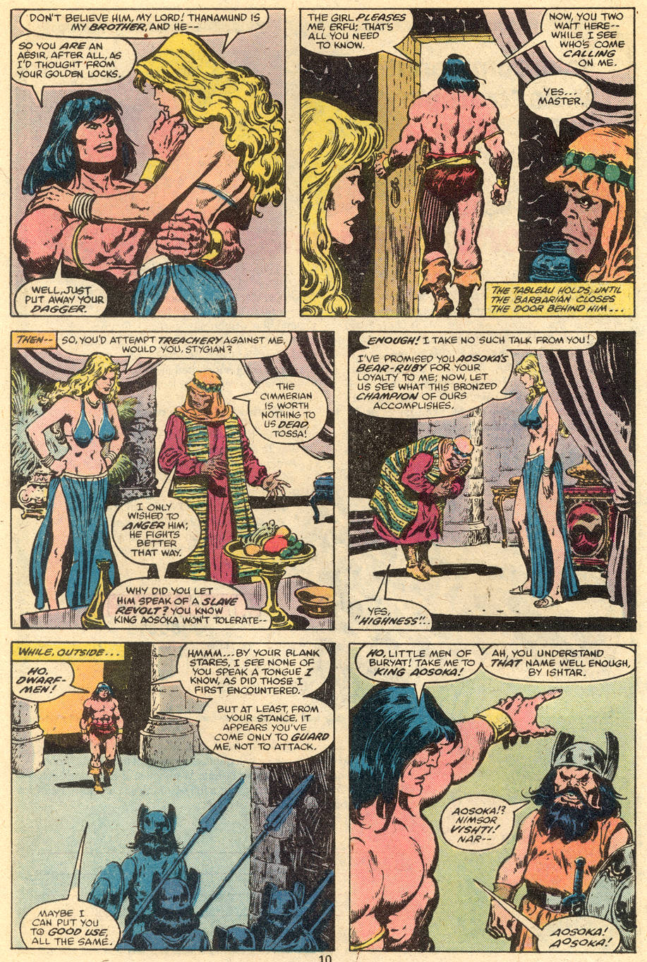 Conan the Barbarian (1970) Issue #111 #123 - English 7