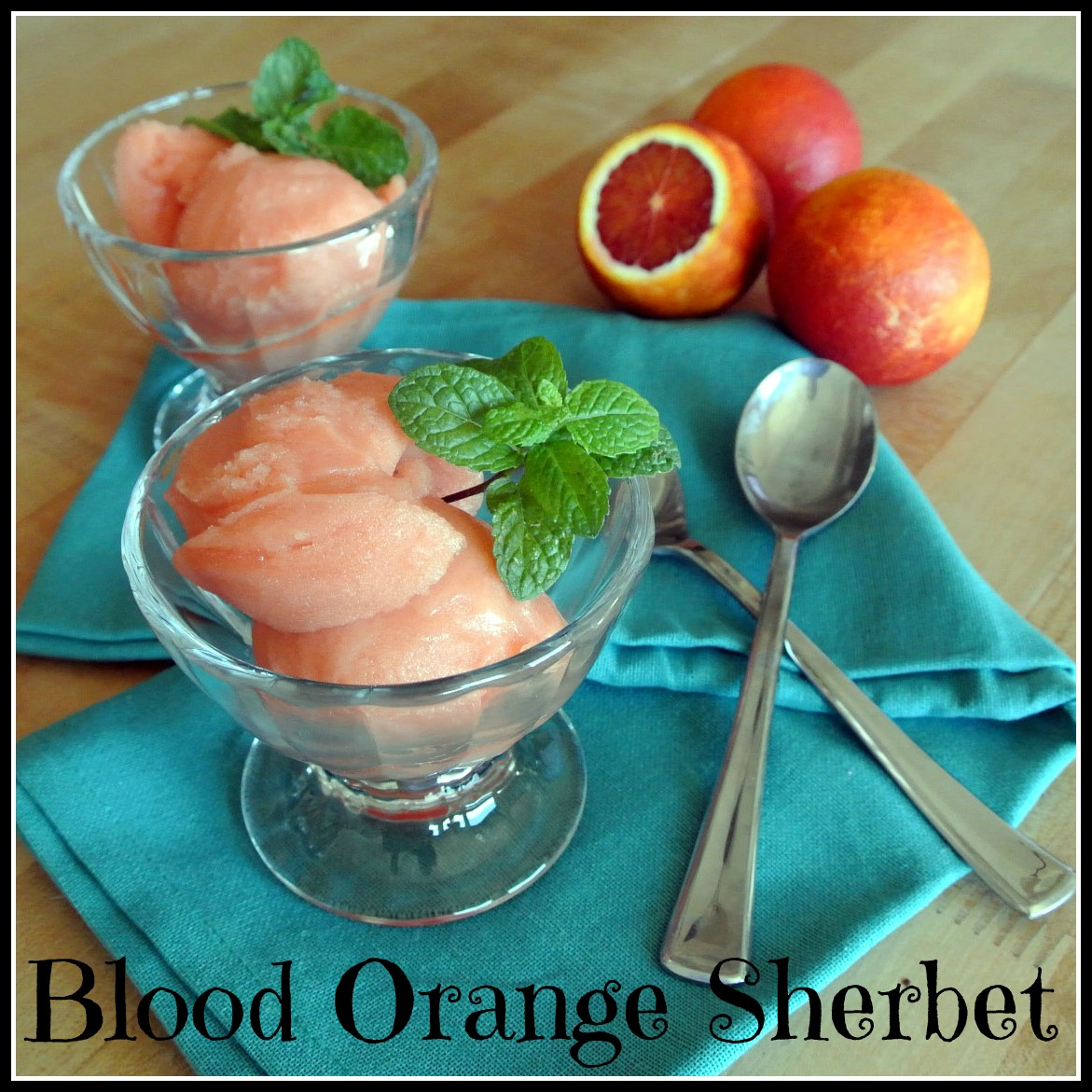 Mom, What's For Dinner?: Blood Orange Sherbet