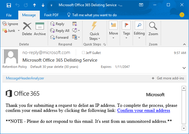 office 365 ip addresses