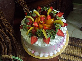 Fruit Flan Cheese Cake