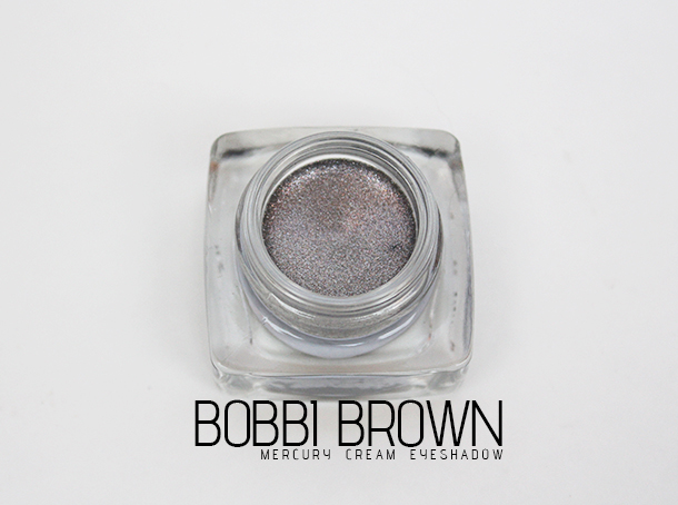 bobbi brown mercury cream eyeshadow review