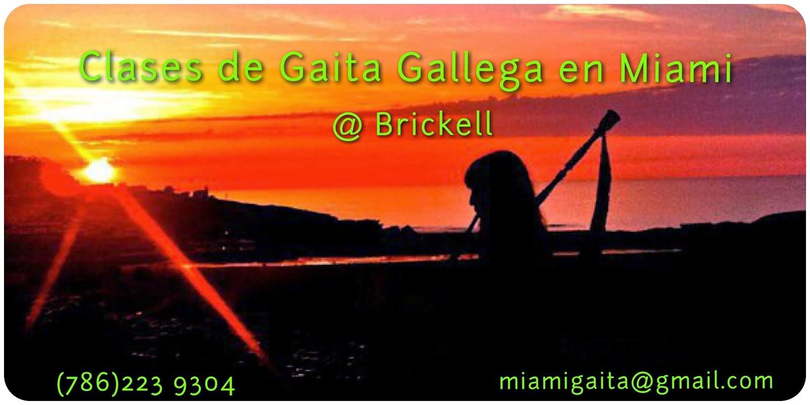 Clases de Gaita Gallega en Miami