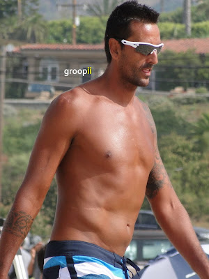 Fred Souza Shirtless at the NVL Malibu 2011