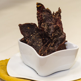 Spicy Garlic Beef Jerky