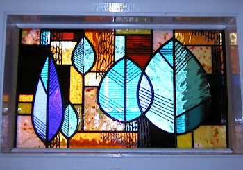 Retro stained glass