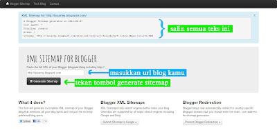 Bagaimana Cara Menambahkan Google Sitemap ke Blogger