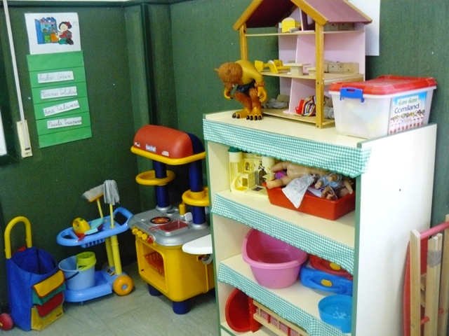 Organizaci n alicia y marta distribuci n del aula por for El rincon del espejo