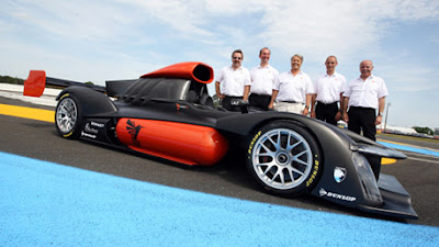Hydrogen-electric racer set for Le Mans