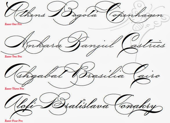 Cursive Handwriting Font