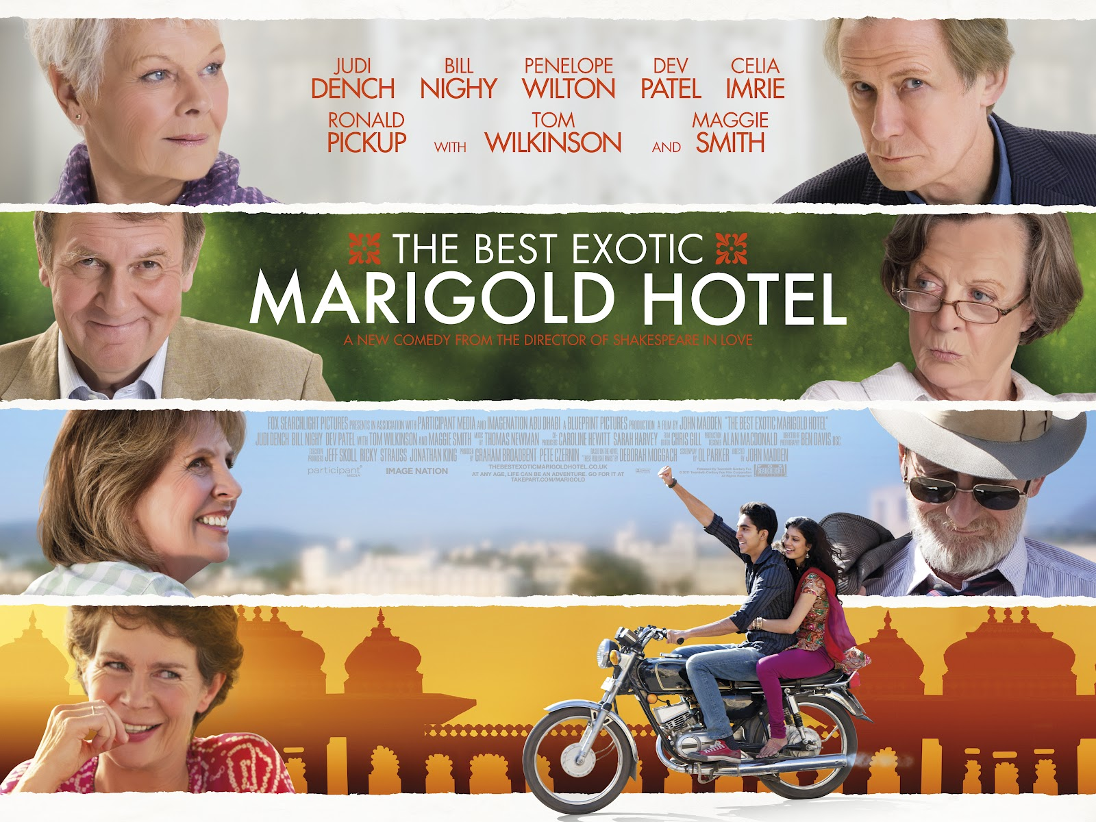 the most exotic marigold hotel essay Free essay: introduction the story of the best exotic marigold hotel (hoffman, 2012) focuses on a group of british retirees who decide to travel for their.