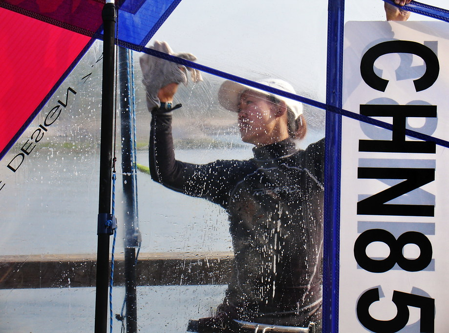 'windsurf wash' • qingdao, china © marc montebello all rights reserved