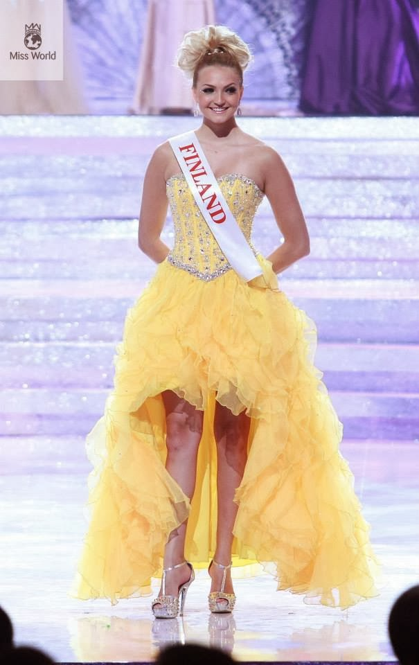 SASHES AND TIARAS.....Miss World 2013 GOWN REVIEW Part 2 | Nick Verreos