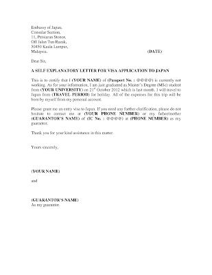 format surat permohonan visa luar negeri dari referensi contoh surat