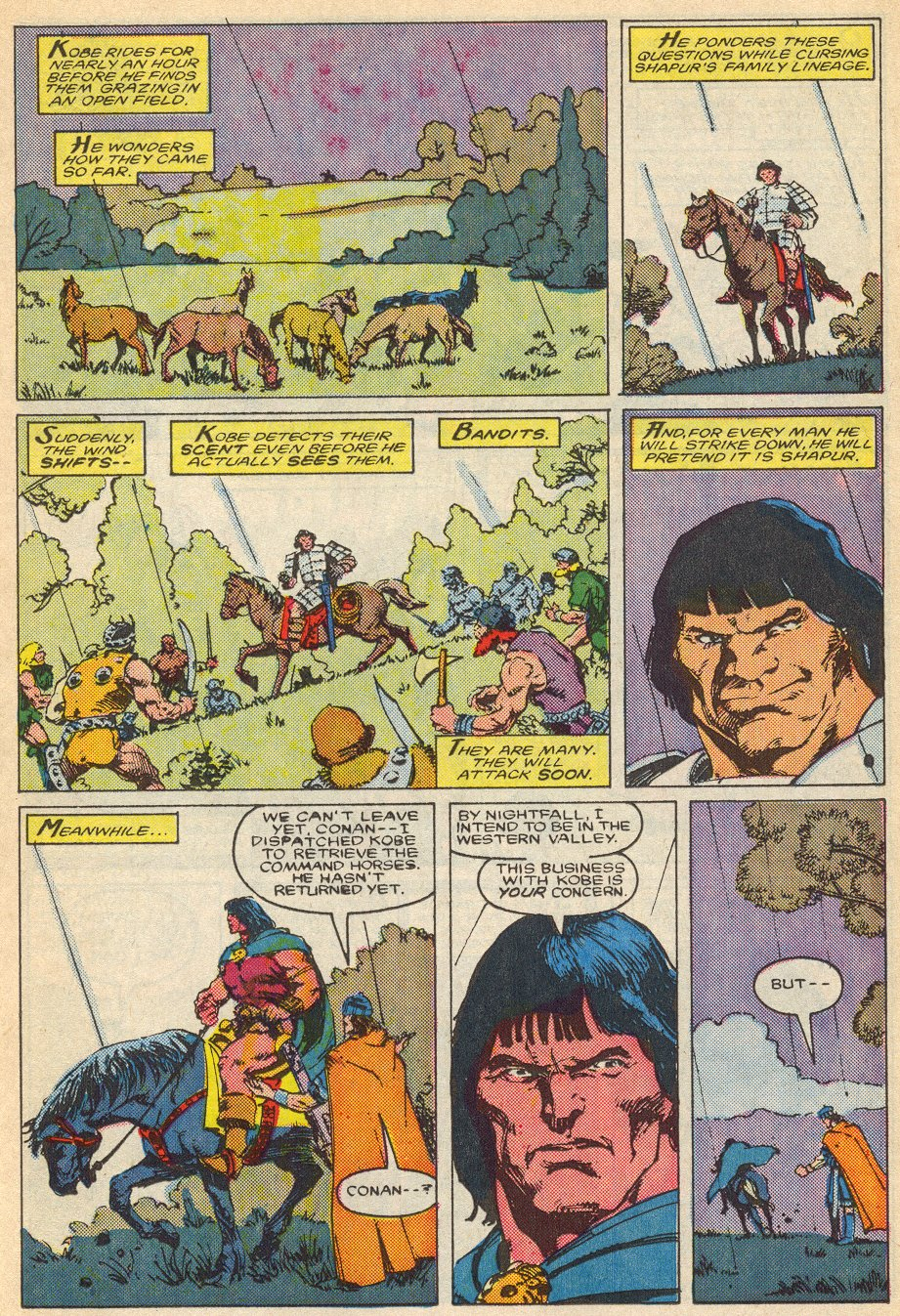 Conan the Barbarian (1970) Issue #195 #207 - English 12