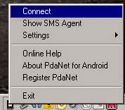 pc connect pdanet tutorial