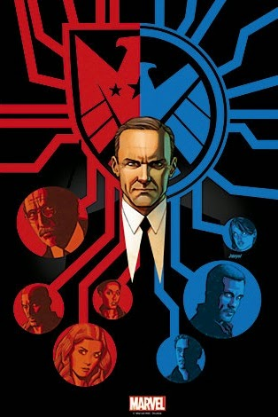 "Agents of SHIELD The Art of Evolution Print #6 - ""Afterlife"" by Dave Johnson"