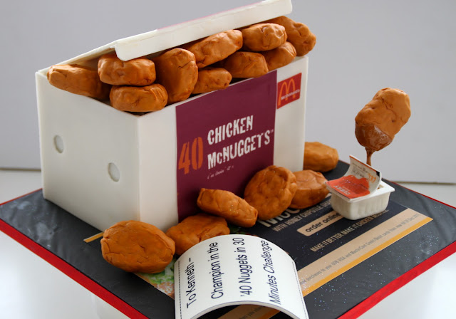 How To Make Chicken Nugget Cake
