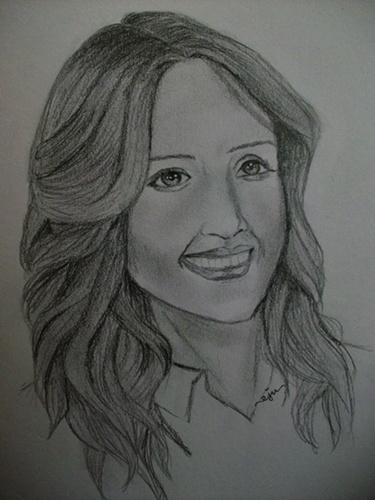 Jessica Alba Drawing. jessica alba
