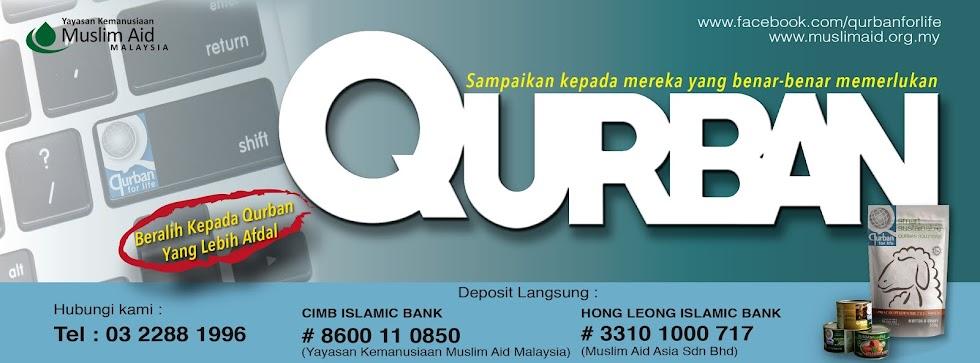 Qurban bersama Yayasan Kemanusiaan Muslim Aid Malaysia