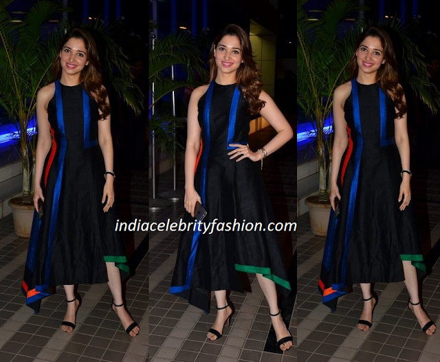 Tamanna Bhatia in Urvashi Joneja Dress
