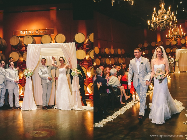 """wedding photography at the palm event center by stephanie court photography"""