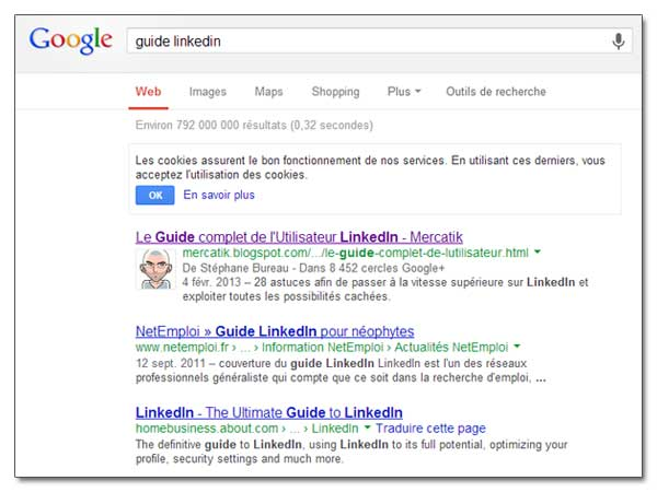 Authorship Authority avec Google+