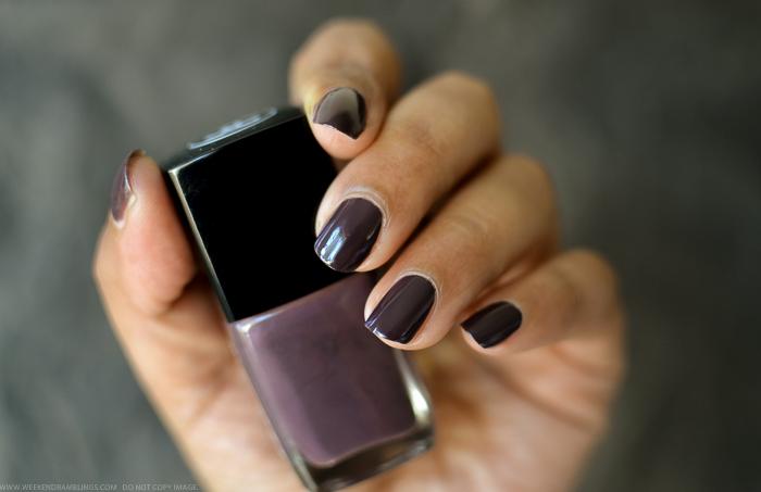Chanel Charivari Nail Polish - Swatches Photos Review - Spring 2014 Notes de Printemps Makeup Collection