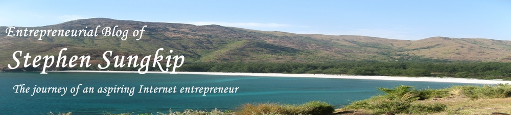 Entrepreneur&#39;s Blog