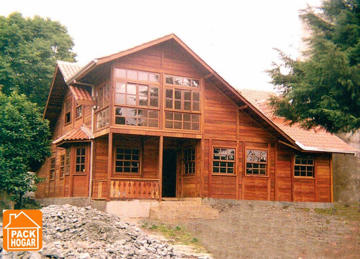 Construccion de casas rusticas prefabricadas para playa en - Casas rusticas de madera ...