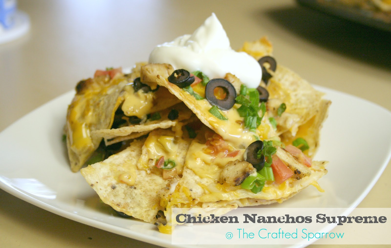 how to make chicken nachos supreme
