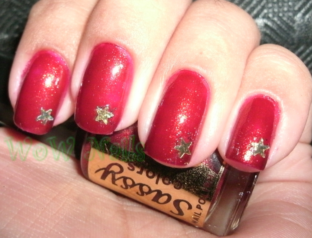 WoW Nails: A New Discovery; Sassy Colors in Frosted Ruby