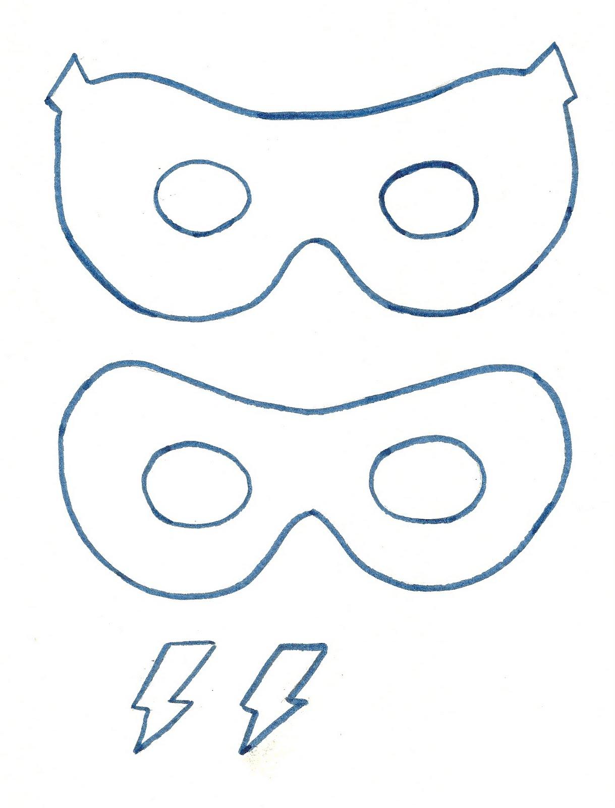 Super hero mask 1 219 1 600 pixels birthday for Superhero mask template for kids