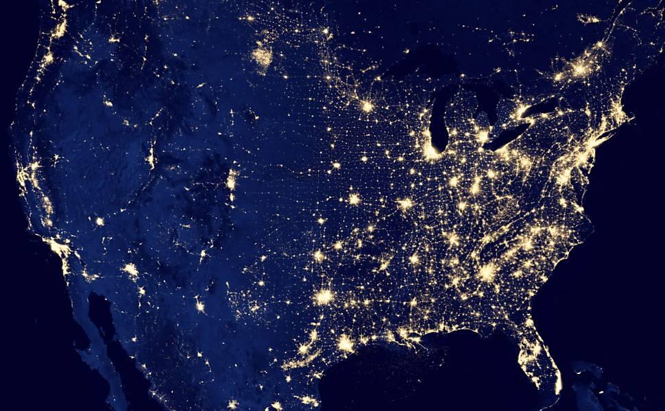 Geoplaneta Nasa Divulga Imagens De Sat 233 Lite Da Terra 224 Noite