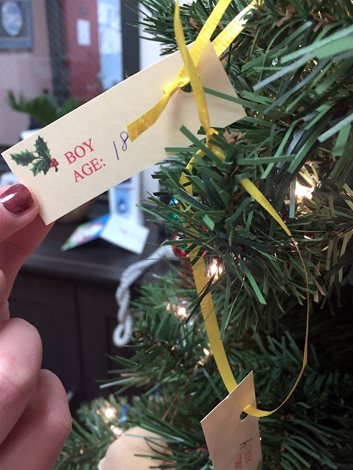 The Washingtonville Wizard Weekly: GIFT TREE FUNDRAISER TO AID ...