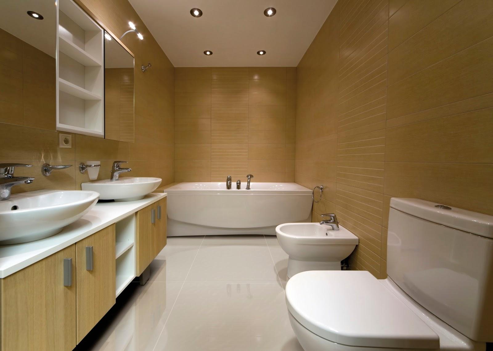 Rústico é antiderrapante mais usado em áreas externas. A limpeza  #674B20 1600x1141 Banheiro Com Porcelanato Rustico