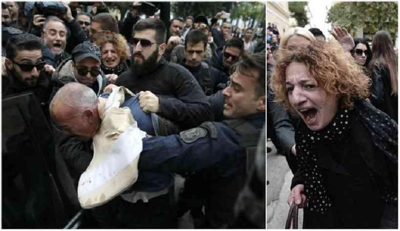 Μάνα, πατέρας και πολίτες λίντσαραν τον δολοφόνο της Δώρας: «Αλήτη, αφήστε μας να τον σκοτώσουμε»