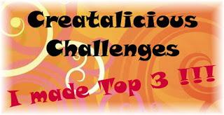 Top 3 at Crealicious