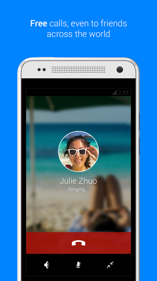 Facebook Messenger Android Apk resimi 2