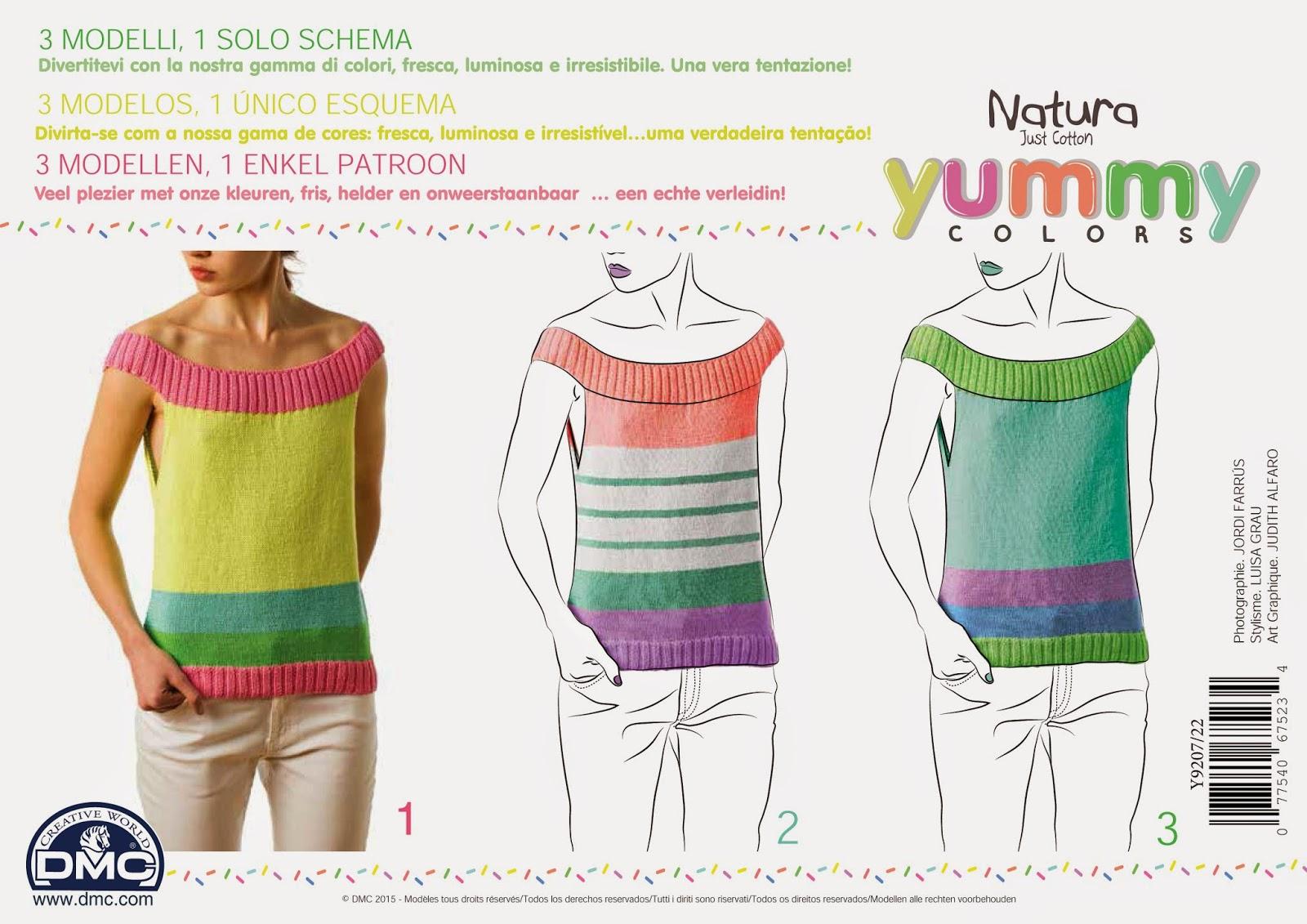 El blog de Dmc: Presentamos el nuevo colorido Natura Yummy