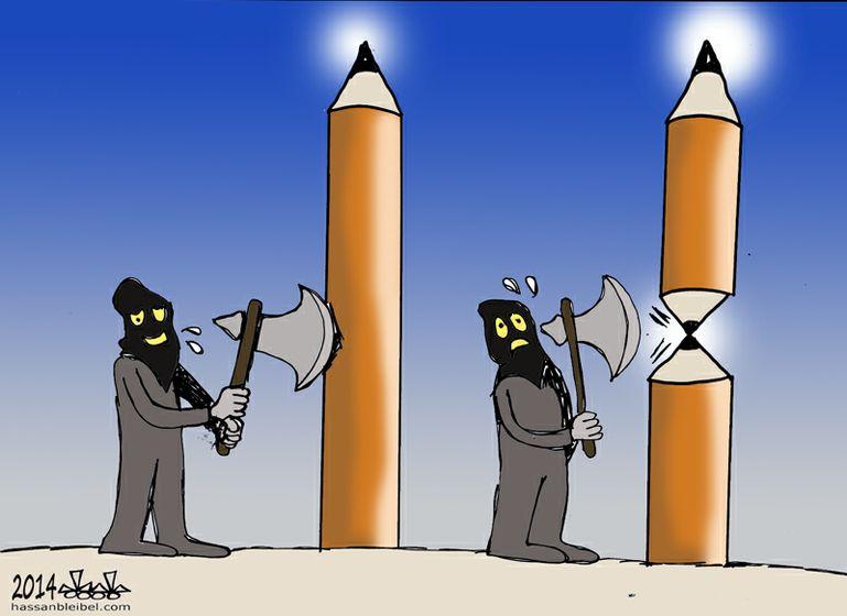 Charlie Hebdo,Papus, yihadistas,