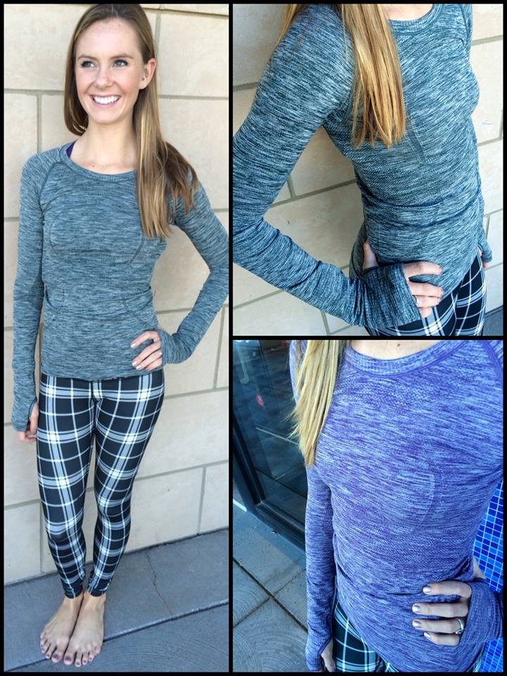 lululemon varsity plaid wunder under pant
