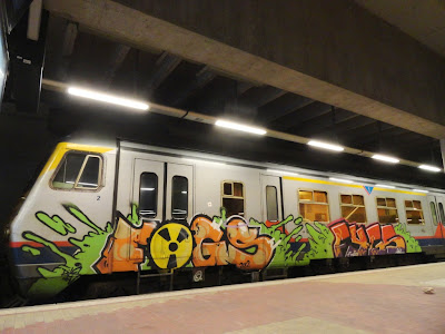 Radioactive graffiti