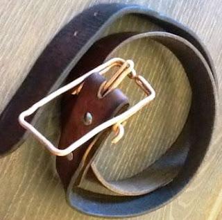 Kepala IKAT Pinggang/Sabuk – Bikin Sendiri dari KAWAT