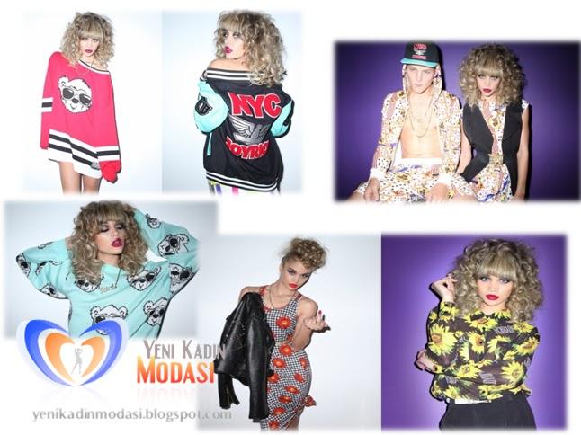 Renkli Yeni Moda Kıyafetler 2013 Yaz Modası